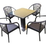 Set din rattan artificial br 2